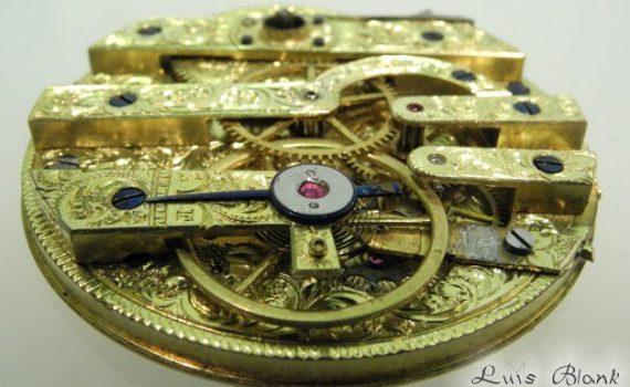 antikes Taschenuhrwerk